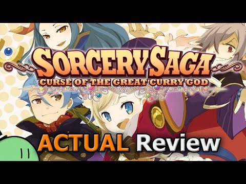 Sorcery Saga: Curse Of The Great Curry God (ACTUAL Game Review) [PC]