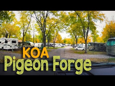 Pigeon Forge KOA: Camping in our Forest River R-Pod 182G Travel Trailer