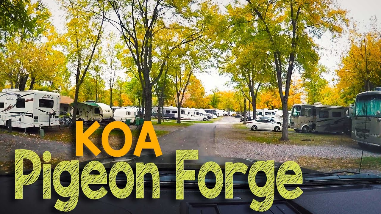 Pigeon Forge KOA Camping in our Forest River RPod 182G