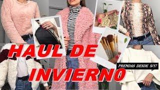 HAUL INVIERNO - TRY ON HAUL ROSEGAL, H&M, GAMARRA Y MAS