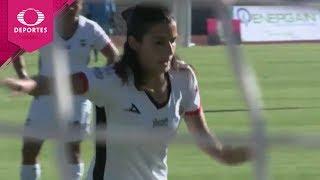 Gol de Gloria Narváez | Lobos BUAP 1 - 0 América | Liga MX Femenil - J9 | Televisa Deportes