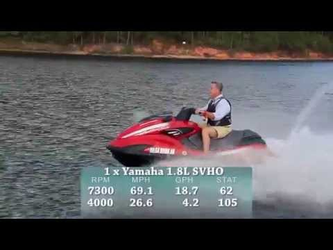 Yamaha FZR SVHO Test 2015- By BoatTest.com