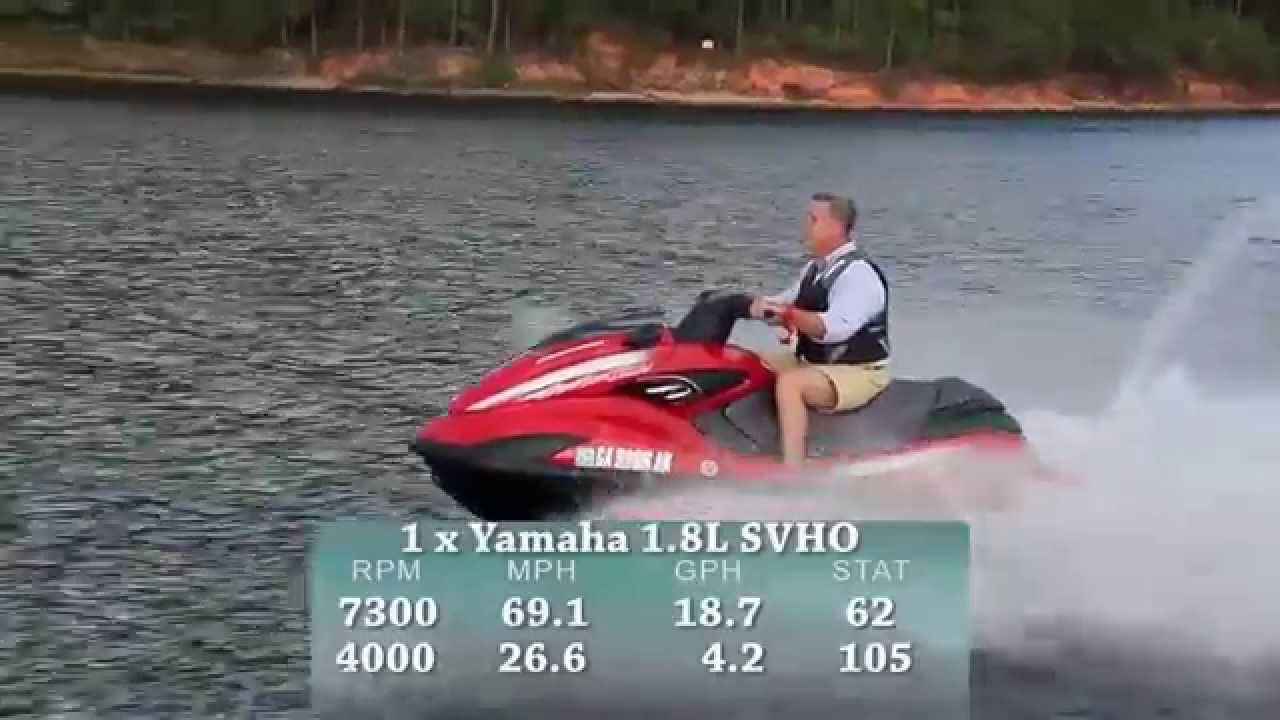 Yamaha FZR SVHO Test 2015- By BoatTest com