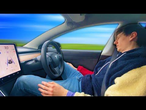 If you go to sleep on Tesla Autopilot will the Tesla keep driving?