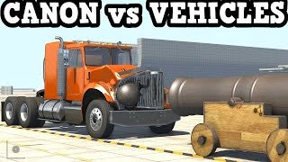 BeamNG Drive 0.4.2.1 - Canon vs Vehicles Simulation