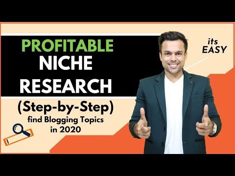 How to find MOST PROFITABLE Niches/Topics To Start Blogging In 2019 (New 3-Step Blueprint) thumbnail