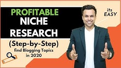 How to find MOST PROFITABLE Niches/Topics To Start Blogging In 2019 (New 3-Step Blueprint)