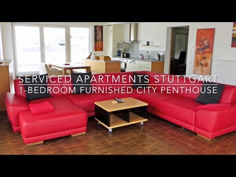 1-Bedroom Furnished City Penthouse Stuttgart - Serviced Apartments Stuttgart