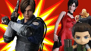 The Resident Evil 2 Collector's Edition Leon Kennedy Figure is Super-Detailed - Up At Noon