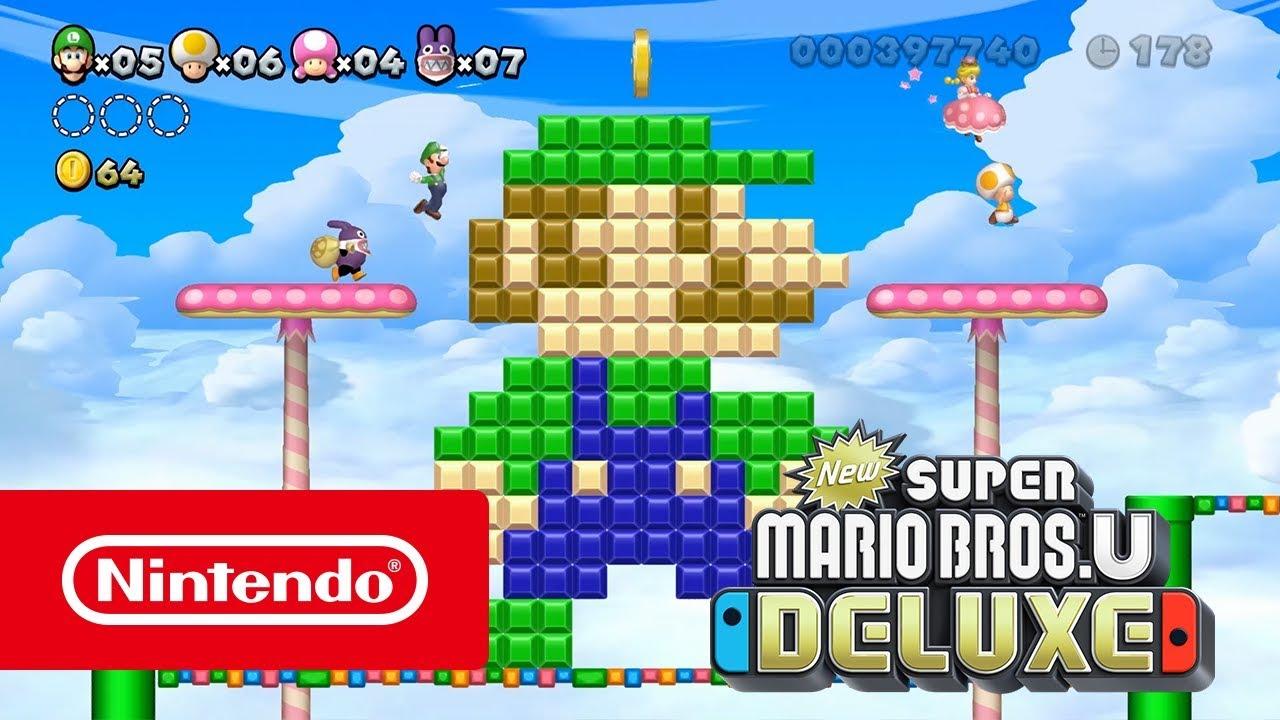 New Super Mario Bros U Deluxe Quand Je Veux Où Je Veux Avec Qui Je Veux Nintendo Switch