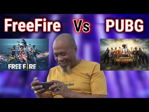 Free Fire Vs Pubg - Pak Ndul