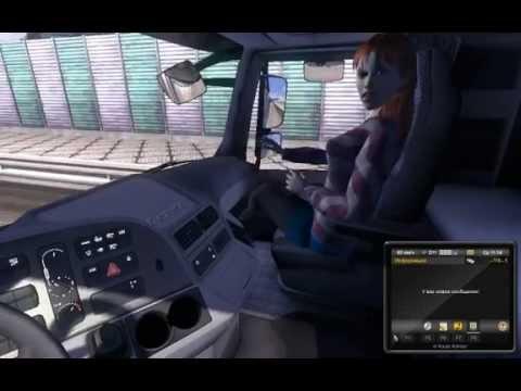Euro Track Simulator 2 mod Autostop lose passengers