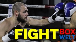 Ufuk Temir vs Slobodan Vukic - 4 rounds Cruiserweight - 28.12.2016 - Gildehaus Luechow