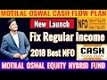 MOTILAL OSWAL EQUITY HYBRID FUND ? What is  CASH FLOW PLAN ? Should You Invest