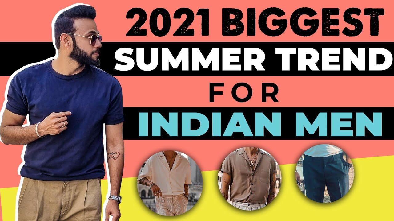 Download 2021 BIGGEST SUMMER TREND FOR INDIAN MEN   Summer Fashion Men 2021 @Rishi Arora