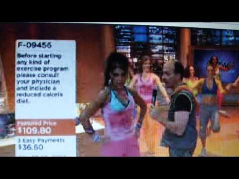 My QVC Zumba Fitness testimonial Patricia Daniels