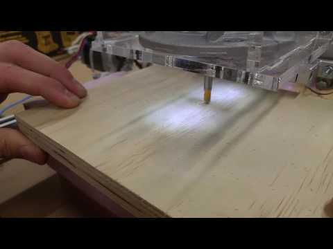 Student Cnc router - Hello World