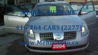 2004 NISSAN MAXIMA SE EXTERIOR & INTERIOR 360 VIDEO.wmv