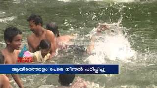 Retired police man Shashidharan turns swimming master: Kannur