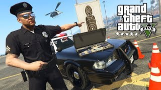 POLICE TRAINING DAY!! (GTA 5 Roleplay Police Mod, Episode 1)