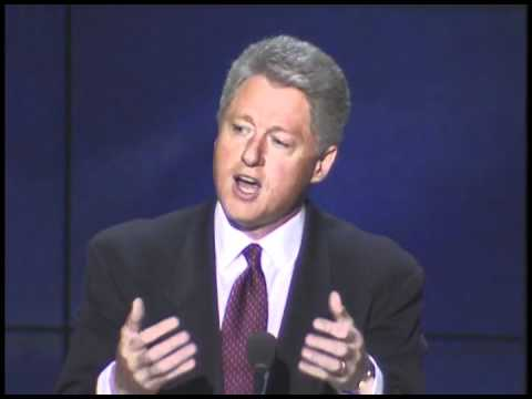 President Clinton's Remarks at the 1996 Democratic National Convention