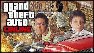 GTA ONLINE| PERSEGUIÇÃO ! (C/ Jv )