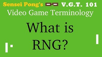 What is RNG? - Video Game Terminology 101 (CASUAL FRIDAYS SPECIAL/VGT 101 PILOT)