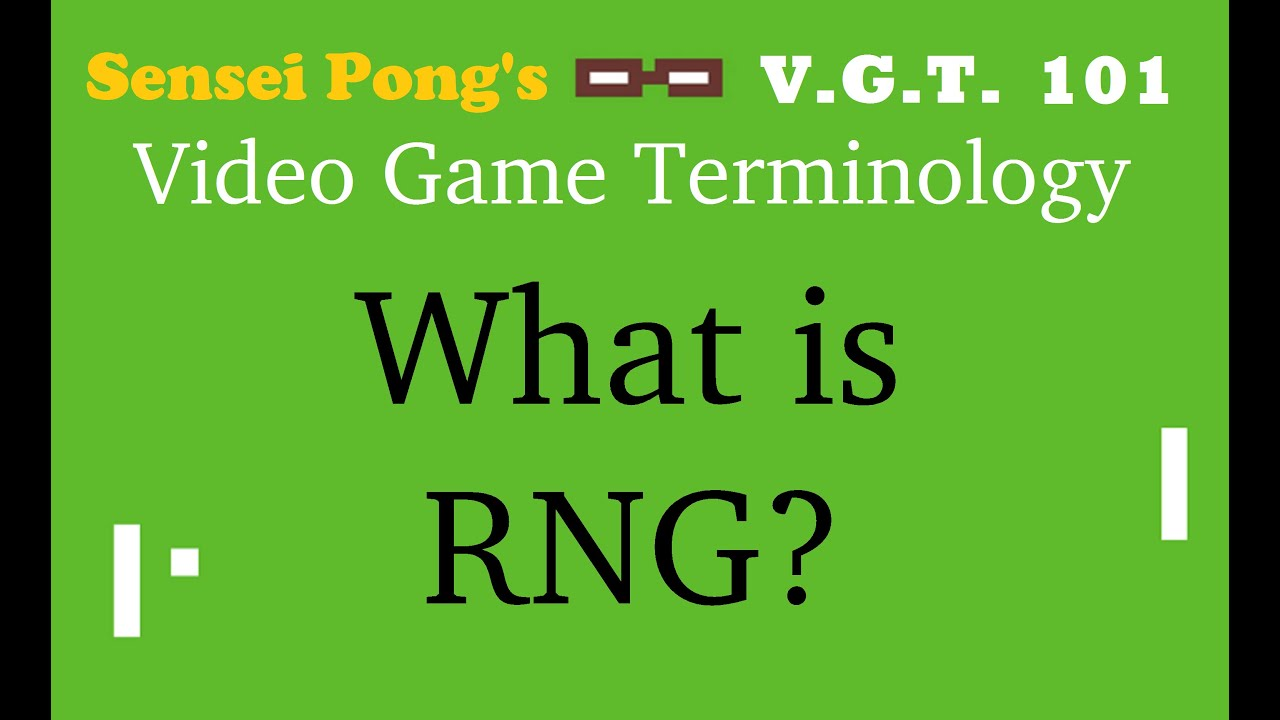 What Is Rng In Games