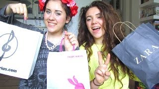 SUMMER HAUL | with my sister