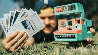 Shooting LA Street Photos - Testing a Vintage Polaroid 600