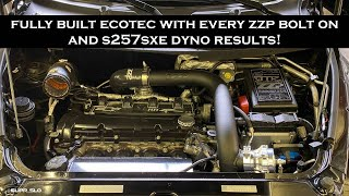 Dyno Results of the Fully built Ecotec with every ZZP bolt on!