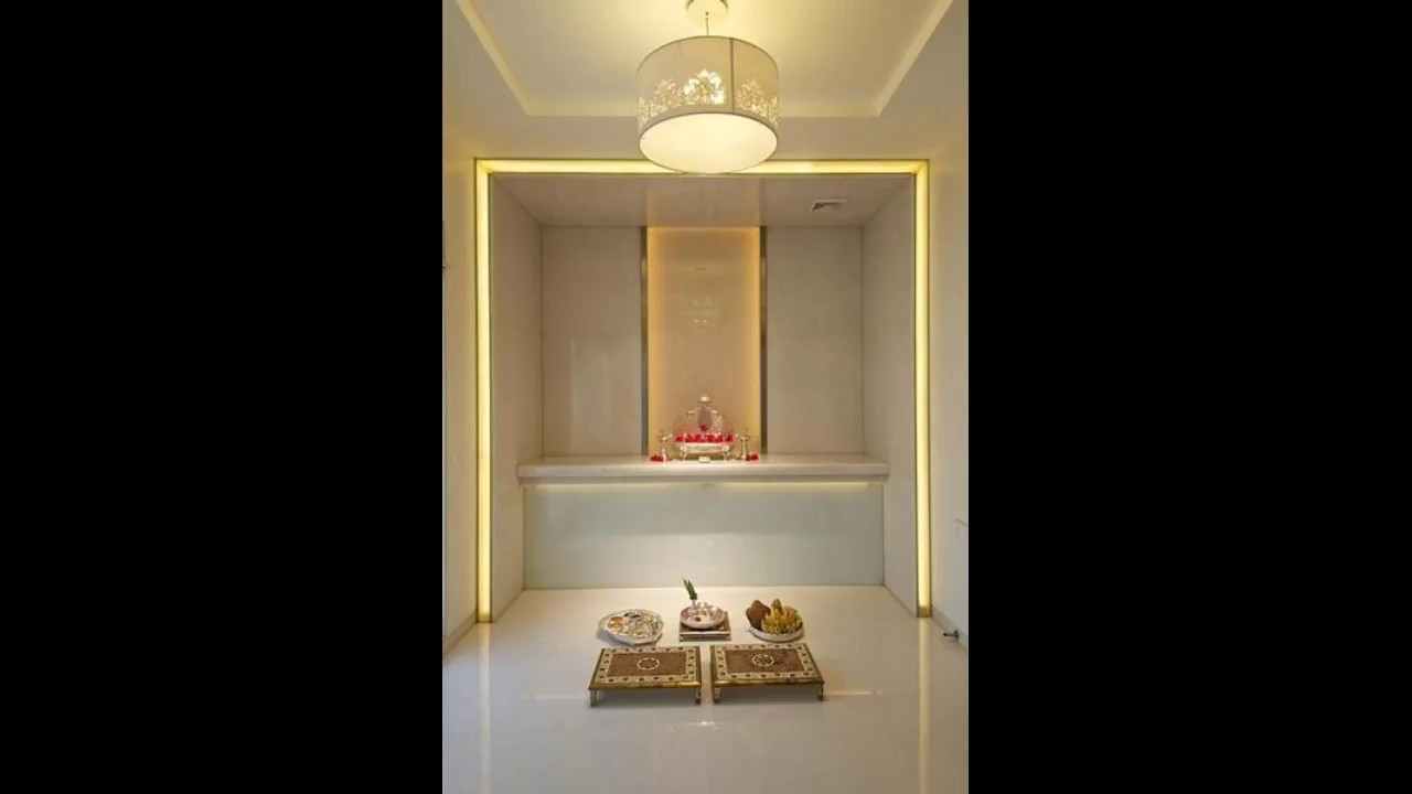 Modern Puja Room Designing Ideas Indian Puja Room Design YouTube