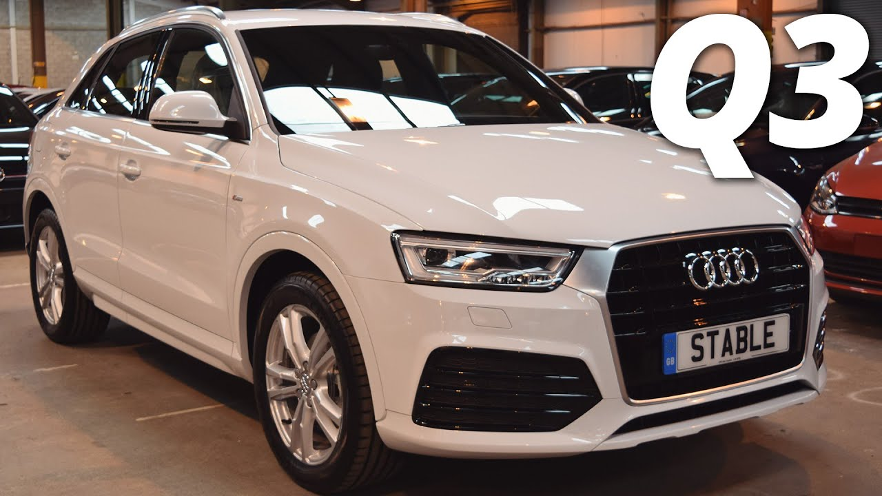 2016 Audi Q3 S Line Walk Around Shell White Youtube