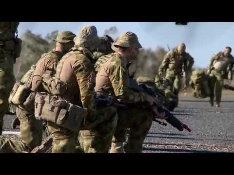 Australian Army's 7th Brigade in action