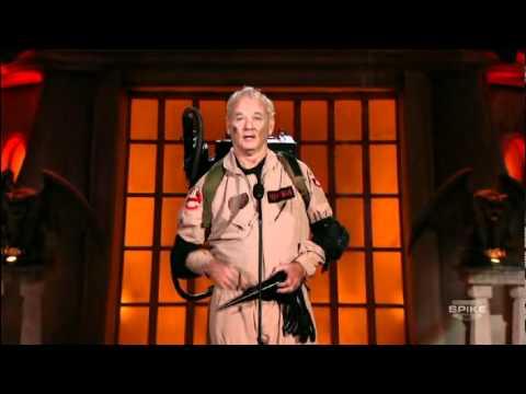 Bill Murray's Acceptance Speech: Scream Awards 2010