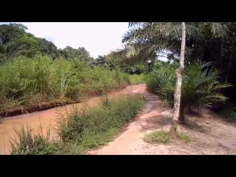 Long Way Up 2015 Congo going to Gabon via Kabingou
