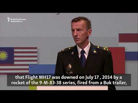 Probe Spokesman Lays Out Russian Role In MH17 Tragedy