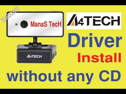 How To Download & Install A 4 Tech Webcam Driver