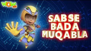Diwali Special | Vir The Robot Boy | Sabse Bada Muqabla - Full Movie | WowKidz