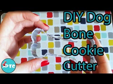 Teal Dog Bone Cookie Cutter