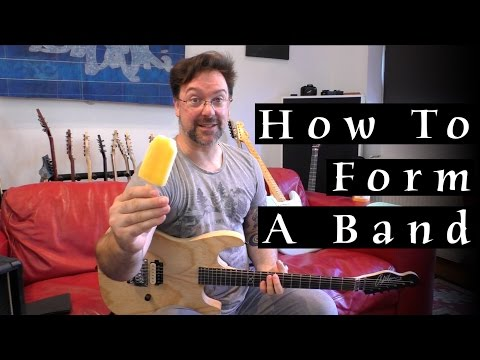 How To Form A Band - Rob Chapman (Q&A)