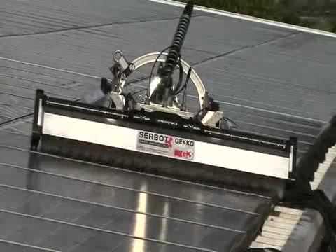 Robot per pulizia e lavaggio pannelli fotovoltaici youtube - Robot per cucinare e cuocere ...