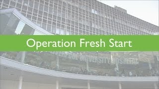 Operation Fresh Start: Angela Gillespie