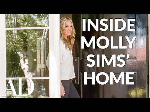 Inside Molly Sims's Kid-Friendly Home | Celebrity Living | Architectural Digest