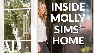 Inside Molly Sims' Kid-Friendly Home in Pacific Palisades | Celebrity Homes | Architectural Digest