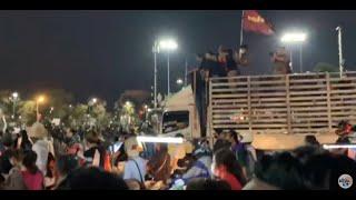 Live : เหตุการณ์ชุลมุนกลุ่มราษฎรฝ่าด่านตำรวจไปศาลหลักเมือง กิจกรรมนับ1ถึงล้านคืนอำนาจให้ประชาชน