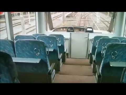 運転士気分の展望座席と海向き2100系スペシャルシートアルファ・リゾート21