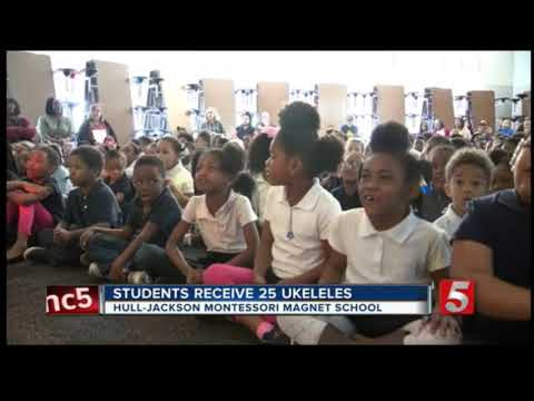 News Channel 5 Coverage 2: Ukedelics Performing at Jackson-Hull