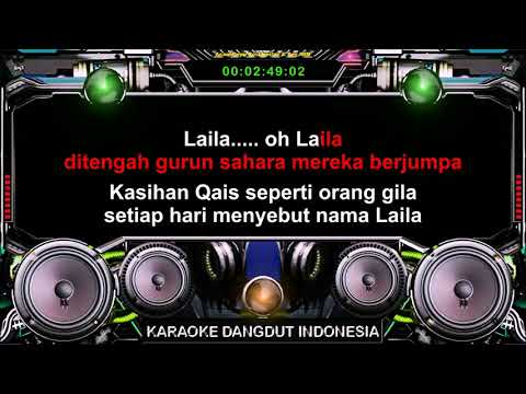 QAIS DAN LAILA - Jhony Iskandar /New HD Bass Boosted