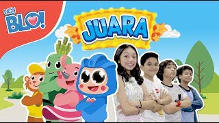 [3.08 MB] JUARA (Lyric Video) - OST. Film Naura & Genk Juara | HEY BLO!